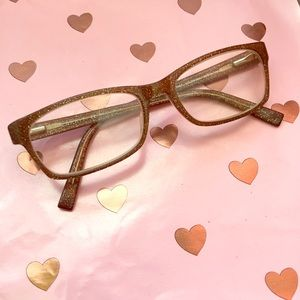 40e8e7d2d68 Esprit Accessories - ESPRIT coppery brown glitter eyeglasses